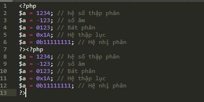 PHP 10: Các kiểu dữ liệu trong PHP