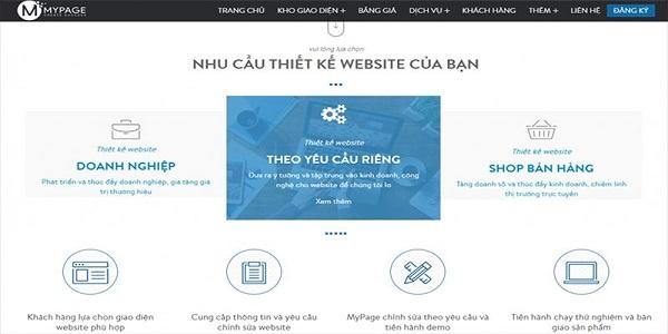 dịch vụ viết website thẩm mỹ viện