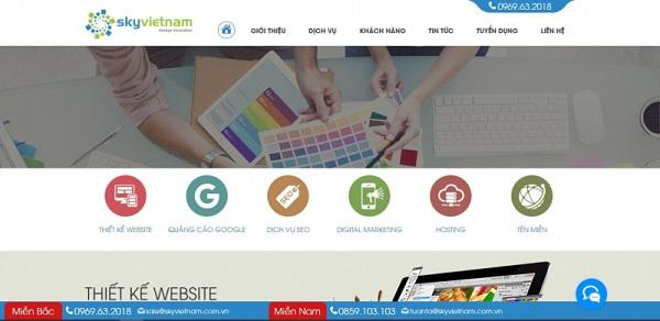 công ty tạo website bất động sản
