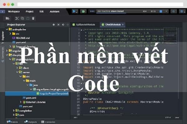 ứng dụng viết code dành cho lập trình viên