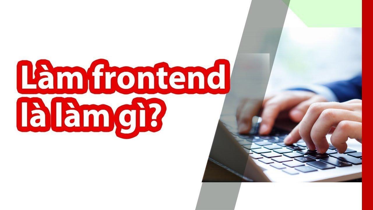 front end là gì?