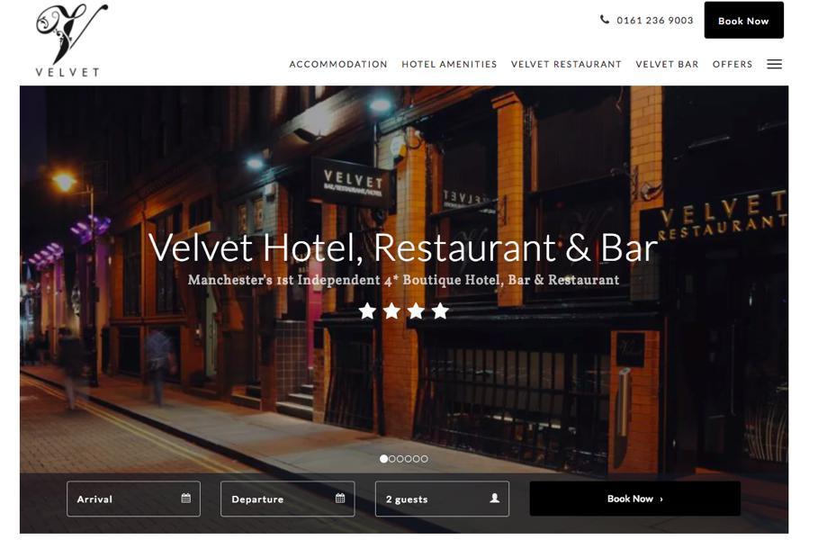 Thêm số điện thoại trong thiết kế website khách sạn