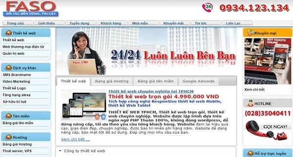 công ty xây dựng web chuyên nghiệp nhất