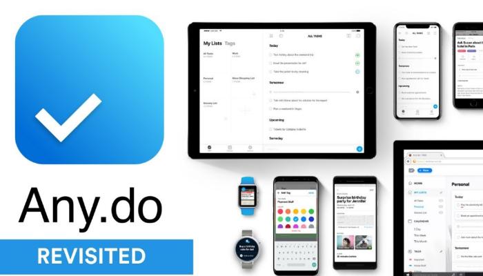 any.do - app quản lý công việc đa nền tảng